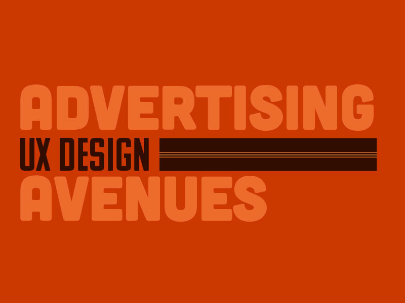 Advertising Avenues: UX Design