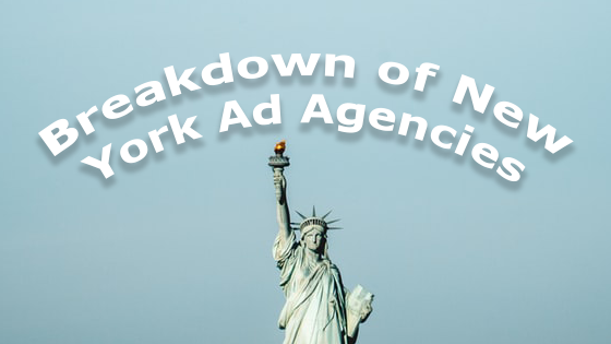 Breakdown of New York Ad Agencies