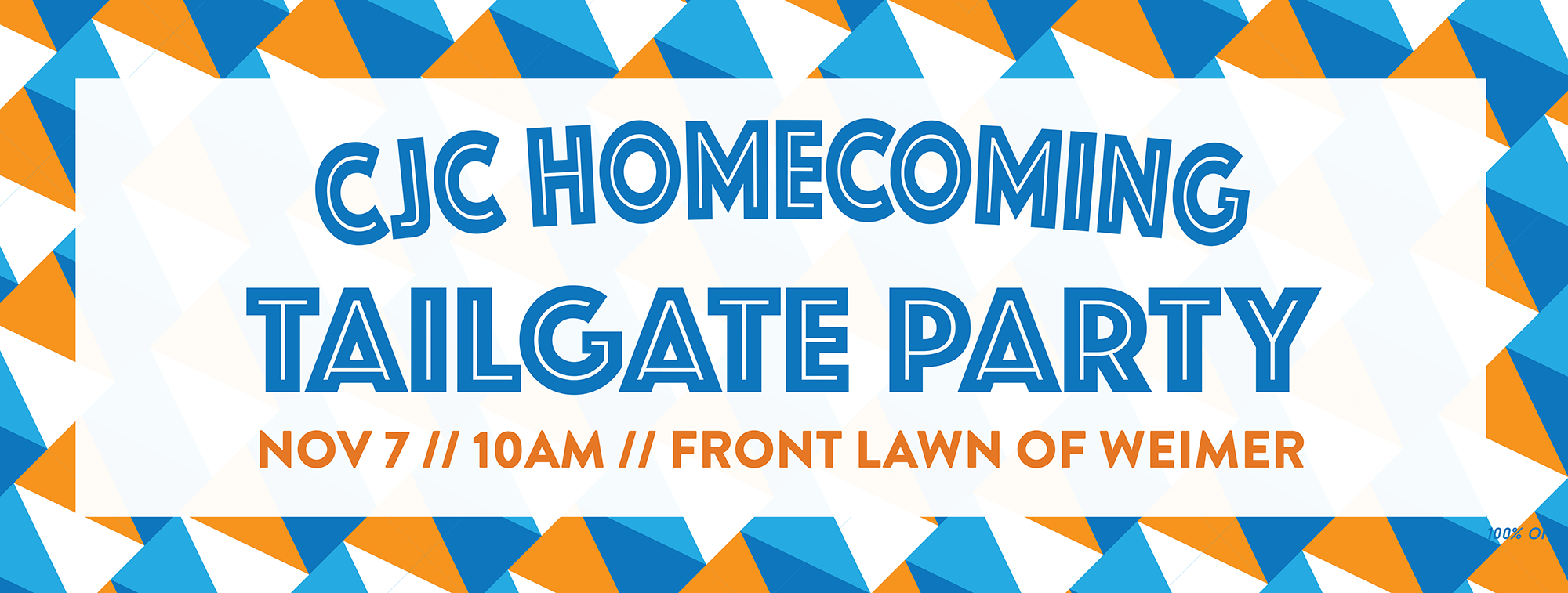 CJC Homecoming Tailgate Party